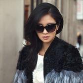 現貨-新款男女墨鏡韓版時尚太陽眼鏡橢圓形圓臉創意裝飾眼睛171
