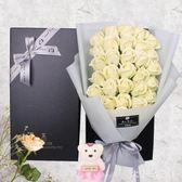 創意禮品圣誕節送女友閨蜜生日禮物33朵仿真玫瑰香皂花束禮盒 ZJ966 【大尺碼女王】