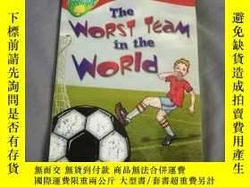 二手書博民逛書店The罕見worst team in the worldY206