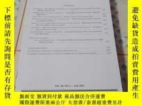 二手書博民逛書店《ECONOMETRICA罕見VOL.84,NO.4—July