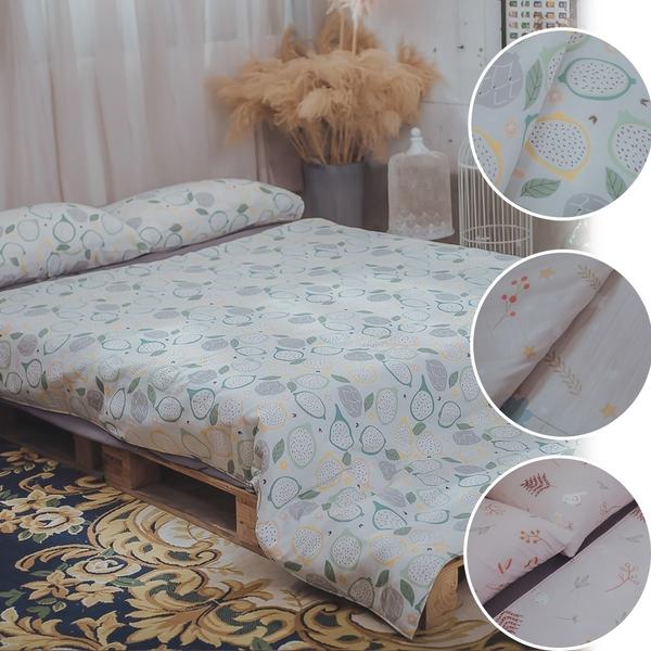 二層紗 兩用被乙件 純棉材質 台灣製造 棉床本舖【超取限購一件】