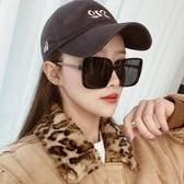 顯瘦太陽眼鏡女韓版潮2020新款方形大框防紫外線ins偏光墨鏡大臉