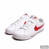 NIKE 男 休閒鞋 COURT LEGACY 白紅 穿搭 皮革-CU4150105