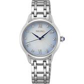 SEIKO精工 140周年限定典雅晶鑽時尚腕錶(SRZ534P1/7N01-0KV0S)-29.5mm