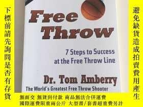 二手書博民逛書店Free罕見Throw: 7 Steps to Success