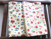 [韓風童品} 70*50cm嬰兒床防水床墊 防水尿墊 產褥墊 生理墊 保潔墊 (草莓,汽車)
