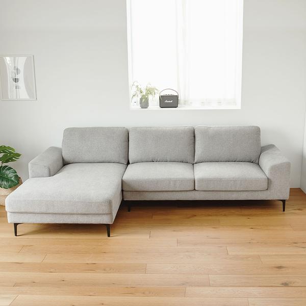 預購 沙發 沙發床 沙發椅 L型沙發 三人發【Y0052】Vega Moana可延伸L型貴妃沙發 收納專科