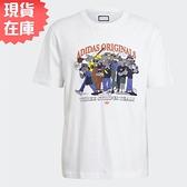 【現貨】ADIDAS ORIGINALS R.Y.V. 男裝 短袖 T恤 老鼠 純棉 易烊千璽 白【運動世界】GN3281