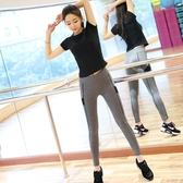 健身褲瑜伽服女燈籠褲子高腰緊身性感跑步速乾高彈健身衣服 聖誕交換禮物