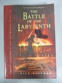 【書寶二手書T9/原文小說_IMV】The Battle of the Labyrinth_Rick Riordan