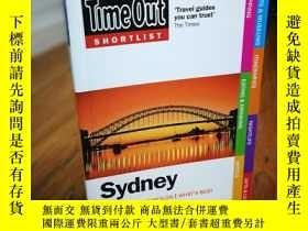 二手書博民逛書店Time罕見Out Shortlist SydneyY12800