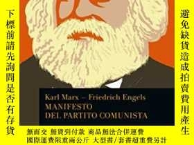 二手書博民逛書店2001年意大利文共產黨宣言Manifesto罕見del Par