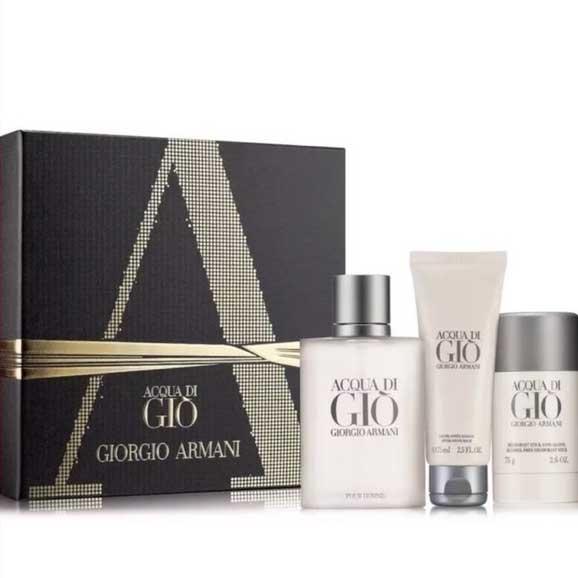 Giorgio Armani 亞曼尼寄情水 男性淡香水 經典禮盒【七三七香水精品坊】