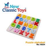 【荷蘭 New Classic Toys】幼兒英文字母配對拼圖 10534