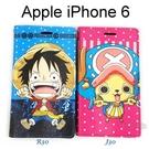 海賊王側掀皮套 iPhone 6 / 6S (4.7吋) 航海王 魯夫 喬巴【台灣正版授權】