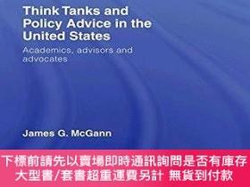 二手書博民逛書店Think罕見Tanks And Policy Advice In The United StatesY255