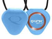 【Q-Link】生物能共振晶體項鍊 ─ 靈氣藍 NEW (新一代 SRT3效果增加20%)