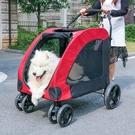 寵物推車狗推車狗車救助犬四輪金毛拉布拉多中大型犬老年摺疊輕便 小山好物