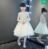 兒童禮服公主裙女童蓬蓬裙花童鋼琴演出服小主持人晚禮服走秀春夏