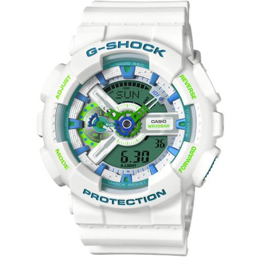G-SHOCK 夏天專屬慢跑時尚運動錶  GA-110WG-7ADR