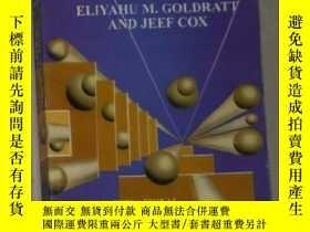 二手書博民逛書店英文原版罕見The Goal by Eliyahu M. Gol