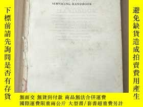二手書博民逛書店television罕見servicing handbook 缺前封皮(P3681)Y173412
