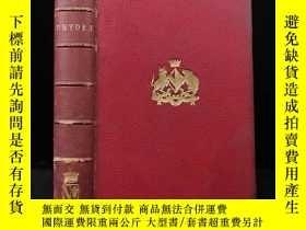 二手書博民逛書店1862年罕見德萊頓詩集 卷首配銅版畫肖像插圖 全真皮精裝18開Y11827 John Dryden Rout