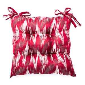 福語緹花餐椅墊 43x43cm 紅