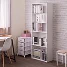 書櫃 置物櫃 收納櫃【收納屋】簡易五層櫃...