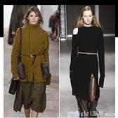 編織細腰帶女韓國時尚打結裝飾配裙子襯衫簡約百搭免打孔皮帶 秋季新品