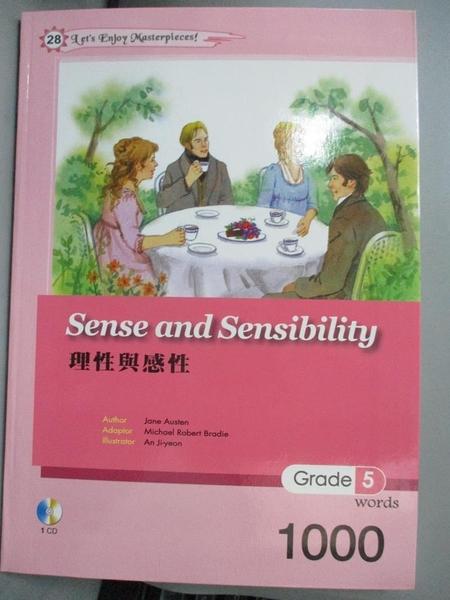 【書寶二手書T1/藝術_NSG】理性與感性 Sense and Sensibility_Jane Austen