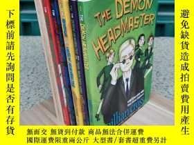 二手書博民逛書店Facing罕見the demon headmaster 1-6 惡魔校長6冊合售Y308064