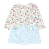Carter s卡特 薄外套+包屁裙短袖洋裝套裝二件組 綠花花   女寶寶連衣裙(嬰幼兒/兒童/小孩)