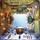 【七折】旋轉的四季花園1000片 成人拼圖高難度減壓益智玩具 印象家品