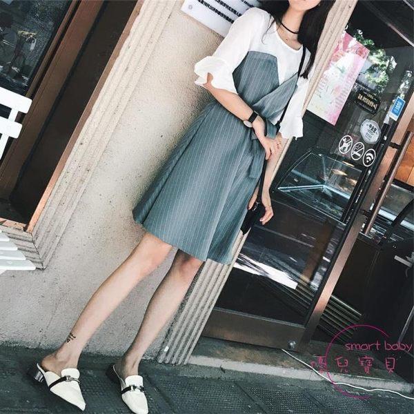 胖公主大尺碼女裝新款胖妹妹套裝減齡夏假髪件遮肚子連身裙 洋裝M-4XL