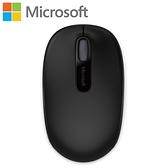 Microsoft 微軟 1850 無線行動滑鼠 消光黑