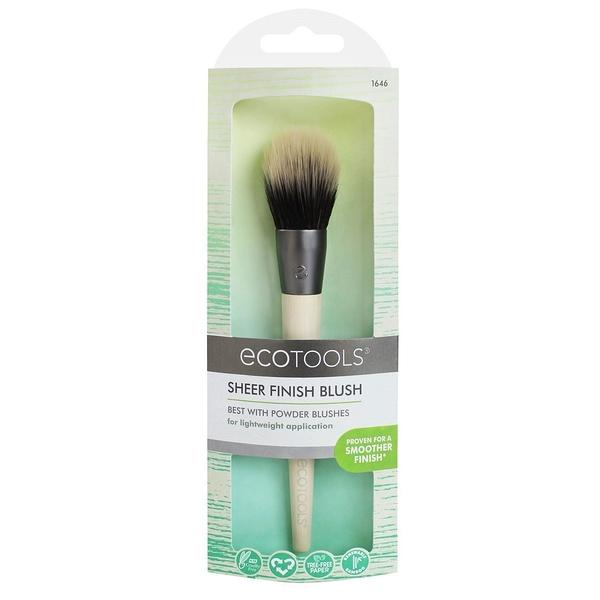 EcoTools sheer finish blush #1646 定妝腮紅刷 蜜粉刷【愛來客 】美國直送專業化妝刷