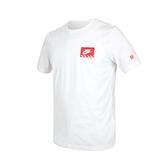 NIKE 男短袖T恤(純棉 休閒 上衣 慢跑 路跑 免運 ≡排汗專家≡