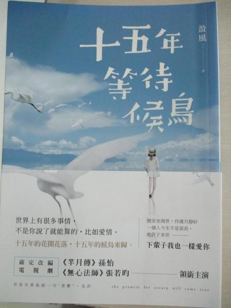 【書寶二手書T5/一般小說_GNG】十五年等待候鳥_盈風