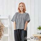 【UFUFU GIRL】100%純棉質感,經典格紋好穿搭。