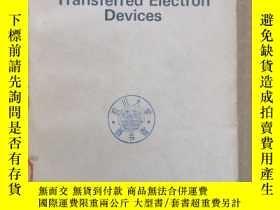 二手書博民逛書店transferred罕見electron devices(P944)Y173412
