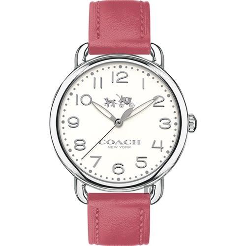 COACH 耀眼奪目時尚皮帶腕錶/14502717