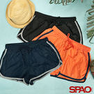 SPAO女款休閒撞色綁帶短褲-共3色...