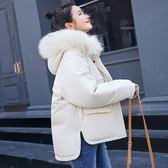 短版大衣 休閒寬鬆棉衣學生反冬季加厚羽絨棉服外套  都市時尚