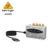 BEHRINGER UCA202 錄音介面 (具有數位輸出2進2出USB /音頻接口)