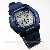 CASIO卡西歐 HDD-600C-2A 電子錶 JAPAN HD 深藍 HDD-600C-2AVDF 男錶 復古復刻 運動錶 軍錶 方形 學生錶