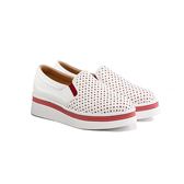 ORWARE-女厚底休閒鞋652151-09紅