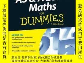 二手書博民逛書店AS罕見and A Level Maths For DummiesY410016 Colin Beveridg