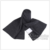 Calvin Klein 素面LOGO圍巾(灰)