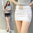 褲裙緊身包臀裙低腰超短裙半身裙短褲裙 快速出貨
